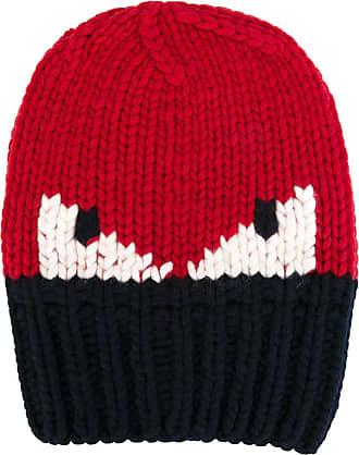 Hat for Women, Midnight Blue, Wool, 2017, Universal Size Fendi