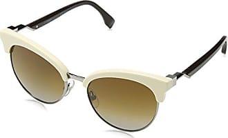 Fendi Damen Sonnenbrille FF 0241/S JP KB7, Grau (Grey/Green Pink), 50