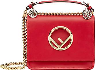 Kan I F bag - Red Fendi O8mF4