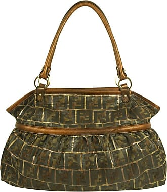 gebraucht - Baguette Bag - Damen - Braun - Canvas Fendi 3a5cRmnJ6