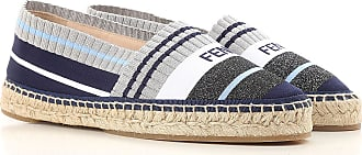 Slip on Sneakers for Women On Sale, Navy Blue, Fabric, 2017, 3 3.5 4 4.5 5.5 6 7.5 Fendi