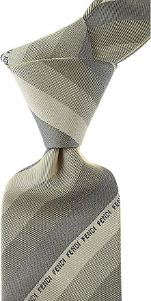 Ties On Sale, shaded Blu, Silk, 2017, one size Fendi
