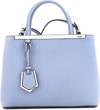 Fendi Top Handle Handbag On Sale, Petite 2jours, White, Leather, 2017, one size