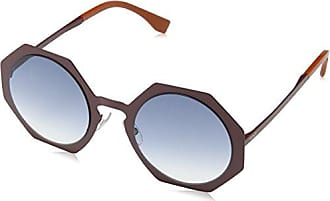 Fendi Damen Sonnenbrille FF 0150/S CC Miy, Beige (Havana Cream/Brown Sf), 51