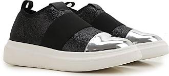 Slip on Sneakers for Men On Sale, Black, Fabric, 2017, 10 11 6 7 8 9 Fessura