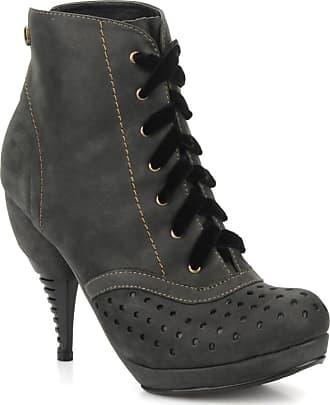 Feud - Damen - Beckon - Stiefeletten & Boots - schwarz O0LNU