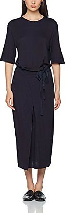 Filippa K Double Wrap Jersey Dress, Robe Femme, (Navy), 8 (Taille Fabricant: Small)
