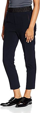 Fiona Peg Cool Wool Slacks, Pantalon Femme, Bleu (Dark Navy), SmallFilippa K