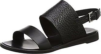 Filippa K Shoes 23761, Bout Ouvert Femme - Noir - Noir (Black 1433), 39