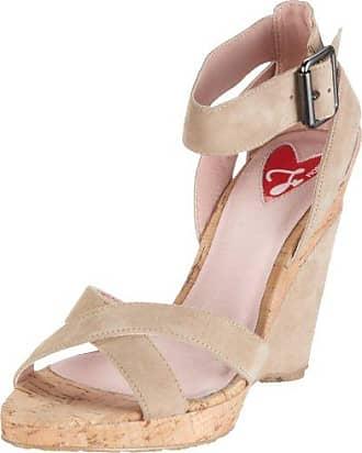 Sandal 40821, Damen, Sandalen/Fashion-Sandalen, Rot (red), EU 40 Fiorucci