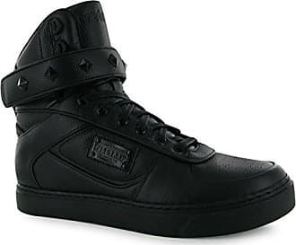 Joy Damen Hi Top Sneaker Glitzer Turnschuhe Freizeit Marineblau/Glitzer 8 (42) Firetrap TwRg02Jz5i