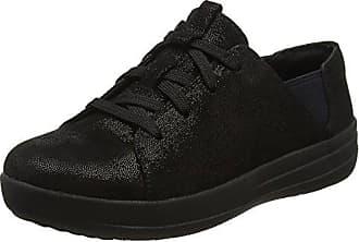 F-Sporty Laceup Sneaker, Baskets Femme, Violet (Deep Plum 398), 37 EUFitFlop