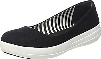 Uberknit Slip-on High Top Sneaker, Ballerines Bout Fermé Femme, Multicolour (Black/Bronze Metallic 501), 38 EUFitFlop