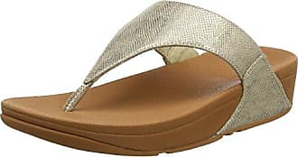 Ritzy Toe-Thong Sandals, Sandalias con Punta Abierta para Mujer, Gris (Pewter 54), 37 EU FitFlop