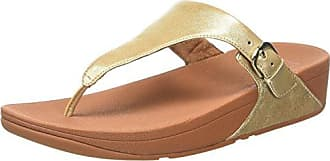 FitFlop Skinny Leather Toe-Thong, Sandales Bout Ouvert Femme, (Caramel 98), 40 EU