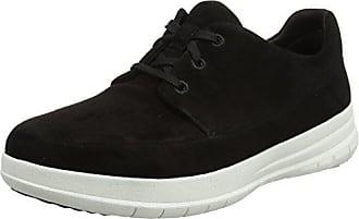 F-Sporty Lace Up, Zapatillas Para Mujer, Negro (Black Glimmer), 37.5 EU FitFlop