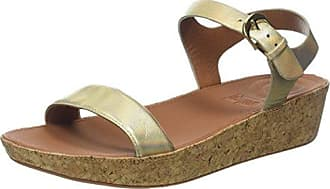 FitFlop The Skinny II Back-Strap, Sandales Bout Ouvert Femme, Marron (Caramel 98), 41 EU