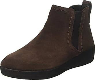 Fitflop Superchelsea Boot Dark Tan, Schuhe, Stiefel & Boots, Chelsea Boots, Pink, Rot, Female, 37