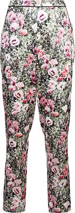 Coquelicot Imprimé Un Pantalon Sur Mesure - Vert Fleur Du Mal o6yLor
