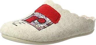 Home, Zapatillas de Estar por Casa para Mujer, Beige (Natur 30), 42 EU Florett