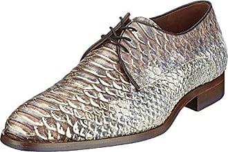 Floris Van Bommel 19114, Zapatos de Cordones Oxford para Hombre, Beige (Taupe), 44 EU
