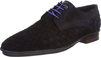 Floris Van Bommel 14007, Zapatos de Cordones Derby para Hombre, Gris (Grey 00), 42 EU