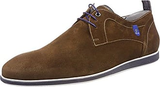 Floris Van Bommel 19114, Zapatos de Cordones Oxford para Hombre, Beige (Taupe), 42 EU