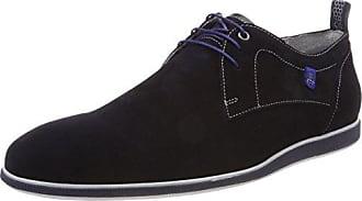 Floris Van Bommel 14058, Zapatos de Cordones Derby para Hombre, Azul (Dark Blue 00), 38.5 EU