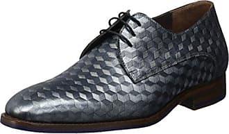 Floris Van Bommel 14168, Zapatos de Cordones Derby para Hombre, Gris (Grey 00), 41 EU