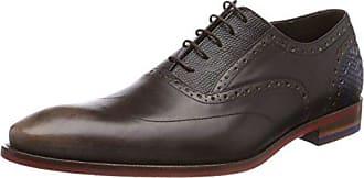 Floris Van Bommel 19114, Zapatos de Cordones Oxford para Hombre, Marrón (Cognac), 40 EU