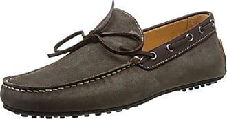 Florsheim Vinton, Zapatos de cuero para hombre, Marrón (Cuir Marrón), 41 EU 7 UK