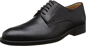 Florsheim Rumford, Zapatos de Cordones Brogue para Hombre, Negro (Black 01), 44 EU