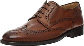 Rumford, Zapatos de Cordones Brogue para Hombre, Negro (Black 01), 42 EU Florsheim