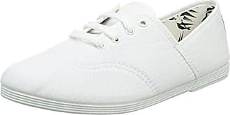 Costa, Zapatos de Cordones Oxford para Mujer, Blanco (White 000), 41 EU Flossy