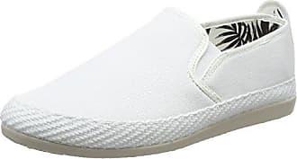 Flossy Vendaval, Alpargatas para Hombre, Negro (White 001-White), 45 EU