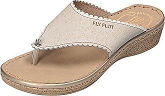 FlyFlot Clogs, Pantoletten Dianette in Lindgrün, Größe 38.0,