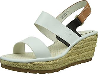 Oily, Sandales Bout Ouvert Femme, Blanc (Offwhite 026), 41 EUFLY London