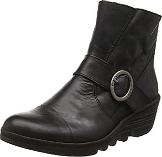 New Look Mädchen Yaz Klassischer Stiefel, Schwarz (Black/01), 38 EU (UK :5)