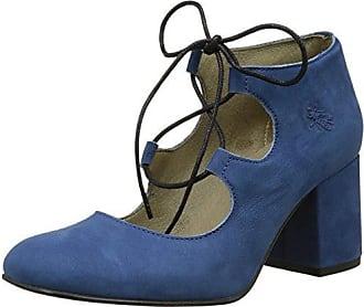 Poma, Escarpins pour femme - Bleu - Blue (Blue/Black) - 36 (UK 3)FLY London