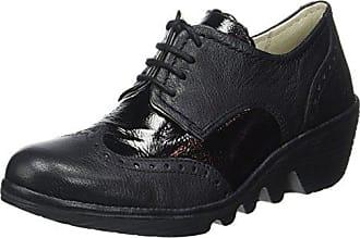 Londonpalt Voler Damani - Chaussures Femmes Avec Des Lacets, Couleur Noir, Taille 39 Eu