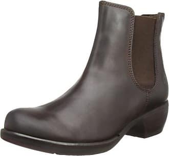 Fly London Lok, Boots femme - Bleu (Deep/Dk. Brown 008), 42 EU