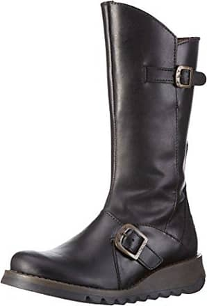 Arty077fly, Bottes Femme, Marron (DK. Brown/Chocolate), 36 EUFLY London