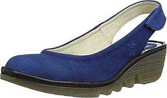 FLY London Damen Wedge Schuhe, Blau (Blue/Blue 079), 41 EU