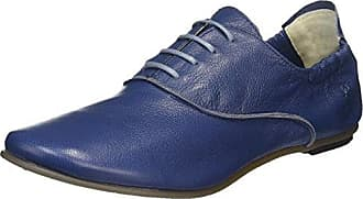 Faru973, Ballerines Femme, Bleu (Blue 007), 38 EUFLY London
