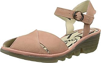 Fly London Yeli719, Sandales Bout Ouvert Femme, Rose (Rose 005), 40 EU
