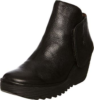 Fly London Czar933, Desert Boots Femme, (Black 000), 38 EU