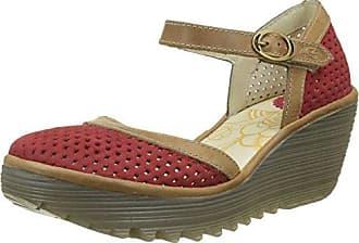 FA 1PD601082, Chaussures basses femme, Noir-V.6, 42FLY London