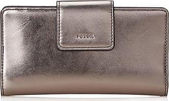 Handybrieftasche, Womens Wallet, Grey (Gray), 1.59x15.24x8.59 cm (B x H T) Fossil