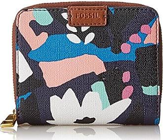 Taschengeldb?rse Mit Doppeltem Rei?verschluss, Womens Wallet, Multicolour (Multi), 0.97x8.57x12.38 cm (B x H T) Fossil