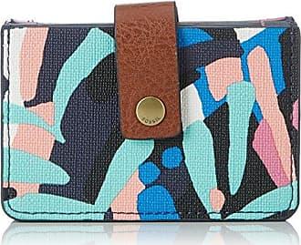 Damen Taschengeldb?rse, Womens Wallet, Multicolour (Multi), 1.91x6.68x10.16 cm (B x H T) Fossil
